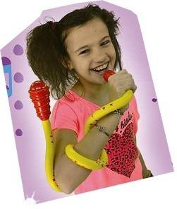 microfono flexible zippy niños inalambrico efectos tv disney