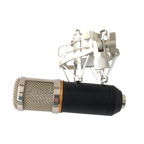 microfono grabación podcast condensador profesional bm-800