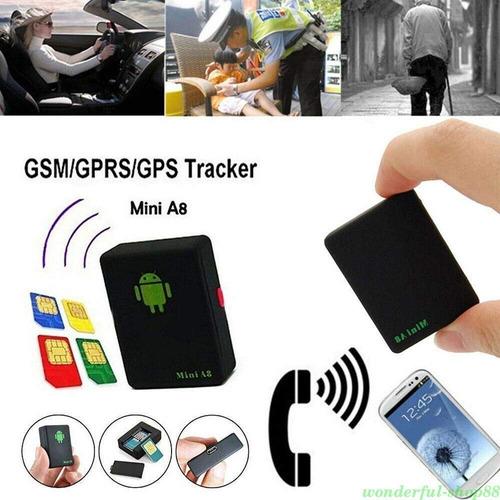 micrófono gsm espía para escuchar a larga distancia gps gprs