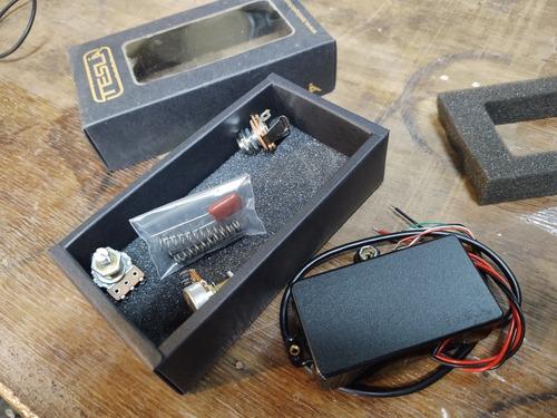 microfono humbucker tesla ah-1 activo