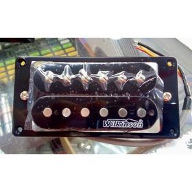 Micrófono Humbucker Wilkinson Para Guitarra Negro