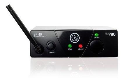 microfono inalambrico akg wms40mini voc-set 25c - 101db
