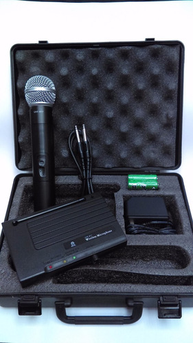 micrófono inalambrico blue sound 600-870mhz