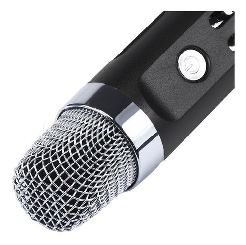 microfono inalambrico bluetooth parlante usb karaoke sd