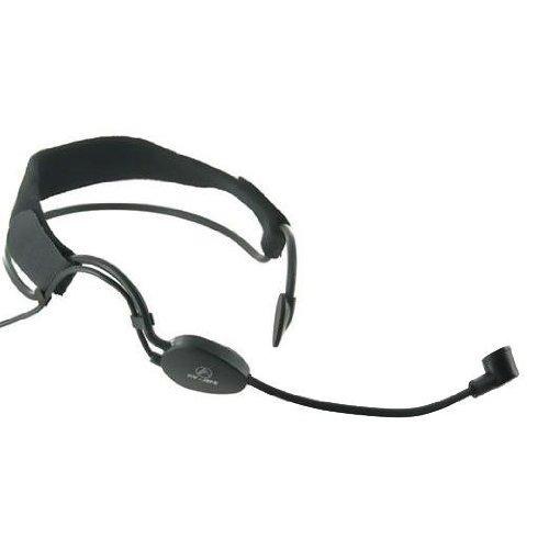 micrófono inalámbrico canal doble uhf dos auriculares mic
