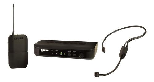 micrófono inalámbrico de diadema shure blx14/p31