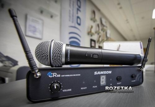 microfono inalambrico de mano samson concert88