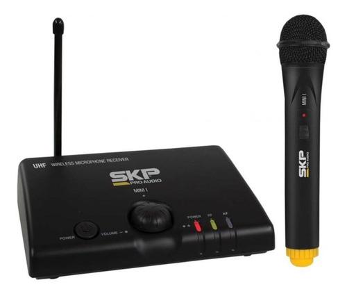 microfono inalambrico de mano uhf mini i skp