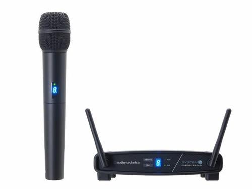 micrófono inalámbrico digital audio technica atw1102