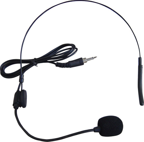 microfono inalambrico doble vincha gbr pro258h vhf esdj