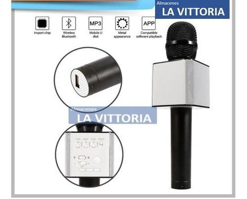 microfono inalambrico karaoke bluetooth q7