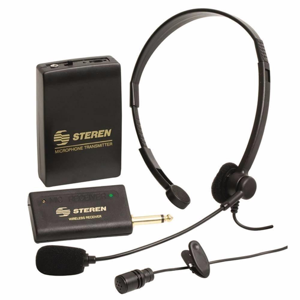 Micrófono Inalámbrico Lavalier De Solapa Y Diadema Mic-290 ...