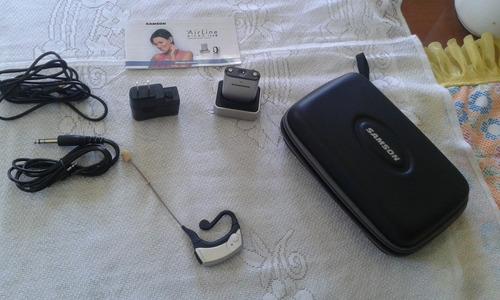 micrófono inalámbrico marca samson modelo airline
