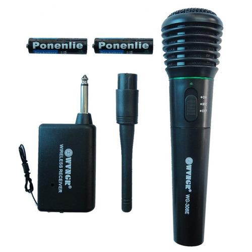 microfono inalambrico o alambrico karaoke