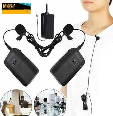 micrófono inalámbrico para auriculares transmisor bodypack