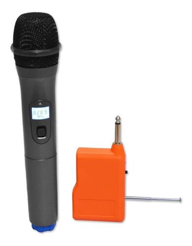 microfono inalambrico para karaoke alta calidad k-uhf01