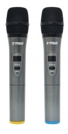 microfono inalambrico profesional doble american xtreme