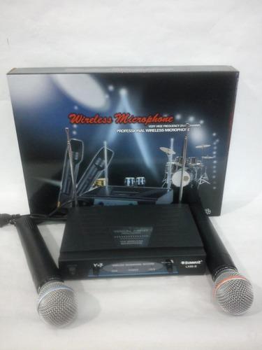 microfono inalambrico profesional lx88 marca summuz 9v
