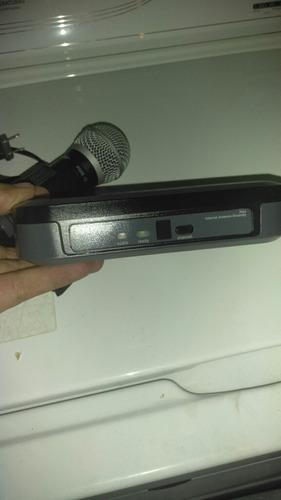 micrófono inalámbrico shure pg58
