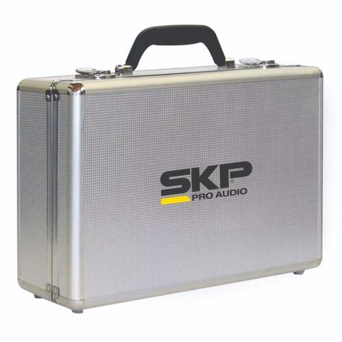 microfono inalambrico skp uhf295 multi frecuencia