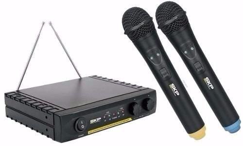microfono inalambrico skp vhf 2671