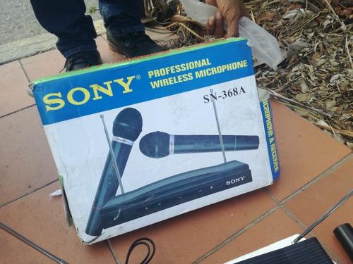 micrófono inalámbrico sony