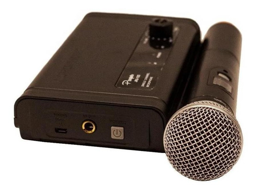 microfono inalambrico uhf 5v parquer jru-100