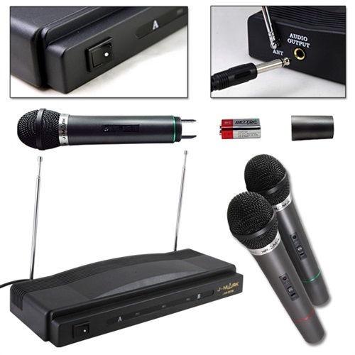 micrófono | inalámbrico | unidireccional | vhf | gtia