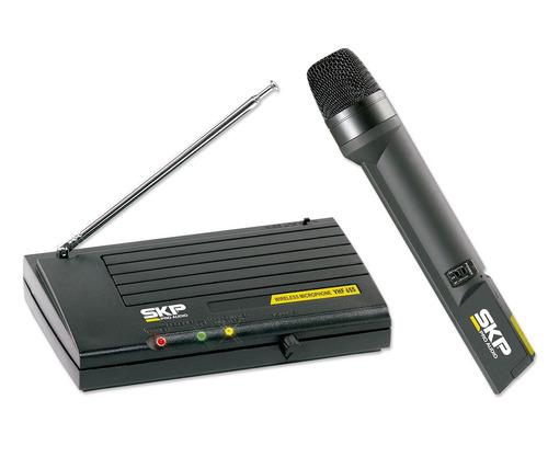 micrófono inálambrico vhf-655 - 101db
