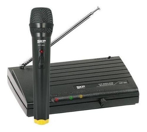 micrófono inálambrico vhf-695 - 101db