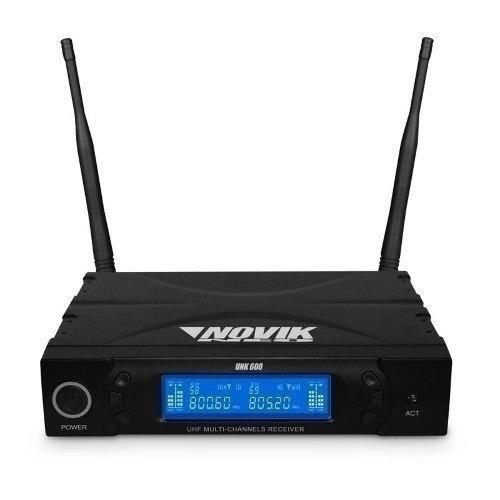 micrófono inalmbrico novik unk-600 - internet store