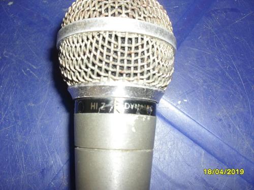 microfono inductivo shure