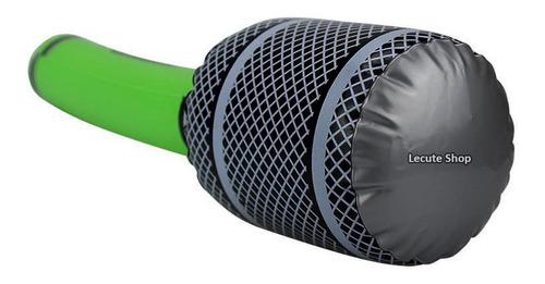microfono inflable gigante fiesta evento karaoke batucada