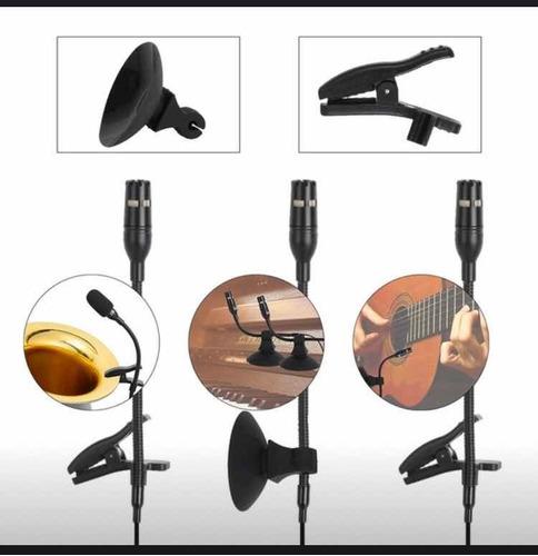 micrófono instrumento de viento