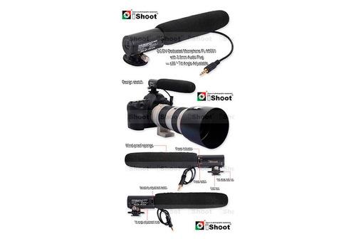 microfono ishoot - camara nikon, sony, canon t4i/ t5i / t6i
