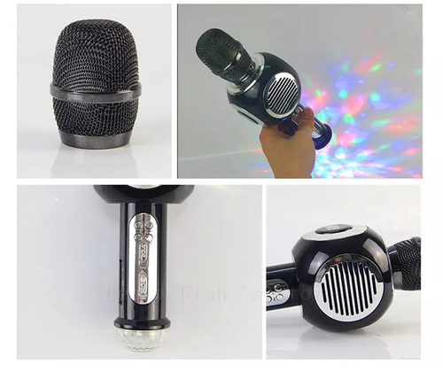 microfono karaoke bluetooth celulares y tabletas - dynacom