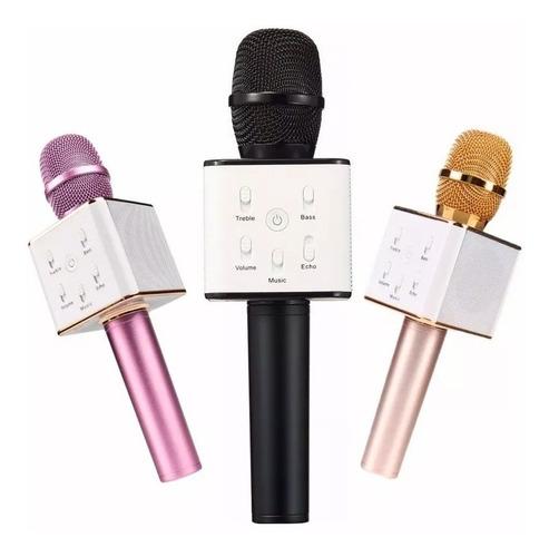 micrófono karaoke bluetooth inalámbrico parlante usb