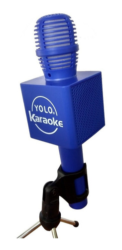 micrófono karaoke bocina bluetooth luces led