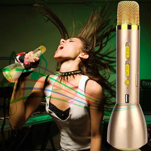 microfono karaoke inalambrico bluetooth k088 smartphones