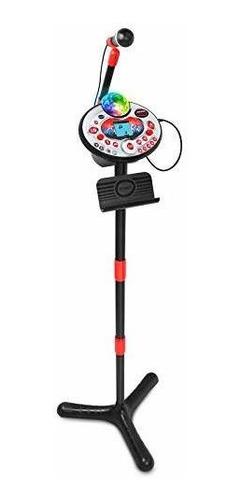 micrófono karaoke infantil musical para niños niñas vtech