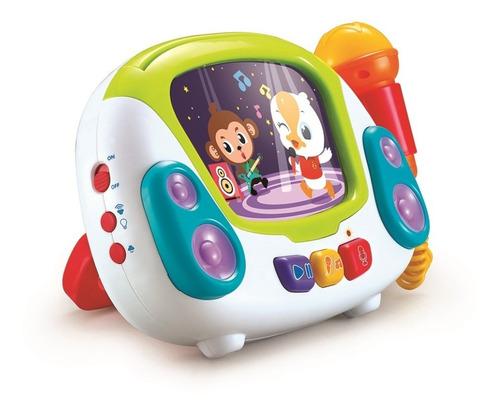 microfono karaoke musical infantil hola 3138 sonido juego ed