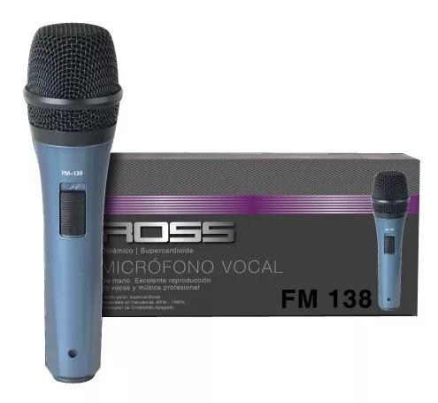 microfono karaoke ross fm 138