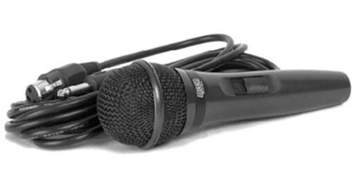microfono karaoke voces con cable de mano dinamico moon m23