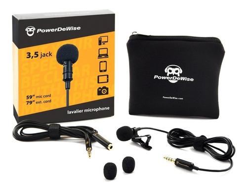 microfono lavalier powerdewise - en stock