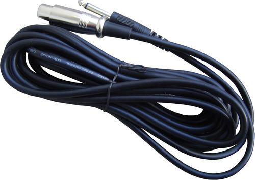 microfono mano dinamico cardioide es58 con cable 3m karaoke