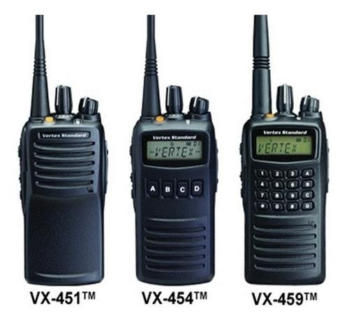 microfono mano radio portátil yaesu vertex standard vx 450