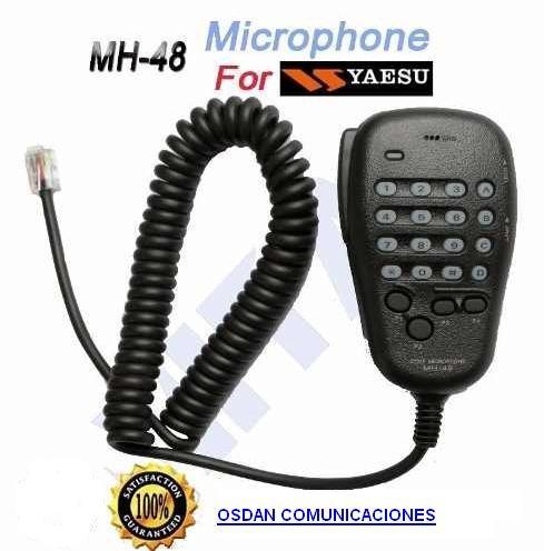 microfono mh48 yaesu para ft1900/2800/2900 ,etc
