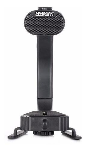 microfono micrig estereo estabilizador grip p/ dslr go pro