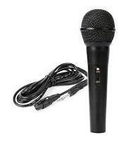 microfono myo alambrico metalico con cable de 1.5m