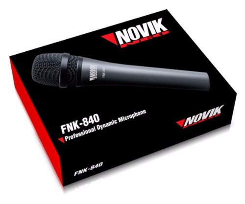 micrófono novik fnk 840 - 101db